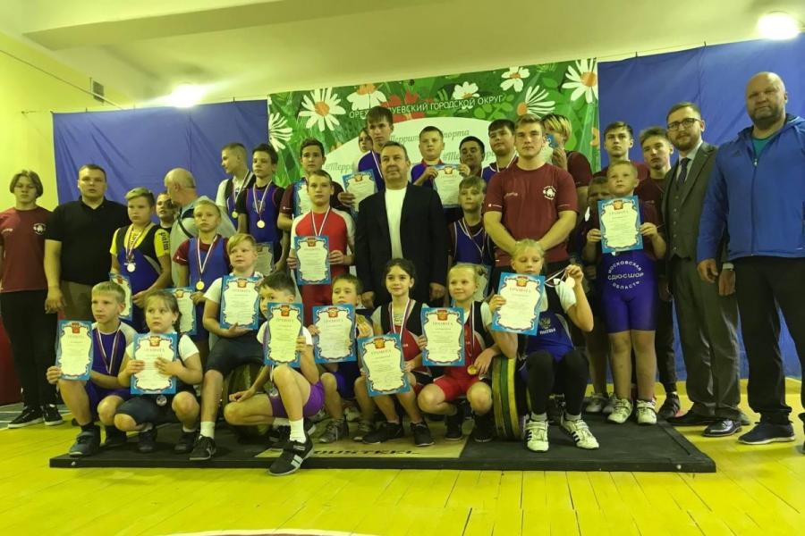 Детский спорт: «Гераклион» на открытом турнире по тяжелой атлетике г. Орехово-Зуево.