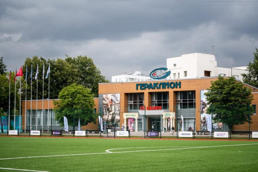 СК «Салют Гераклион» — это мультиспортивный комплекс, аналогов которому нет.