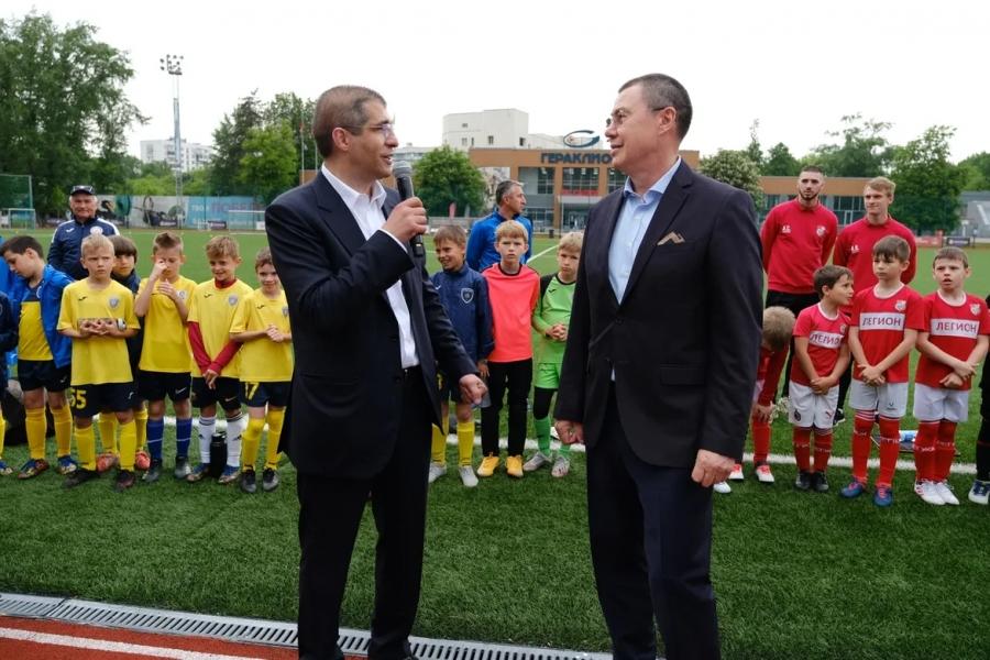 СК «Салют Гераклион»: футбольный турнир в честь юбилея Марата Кабаева.
